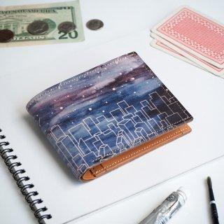 二つ折り財布(スターリー ナイト)