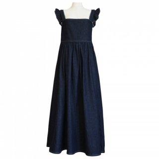 4way denim dress(indigo)