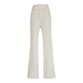 slit design rib pants(ivory)