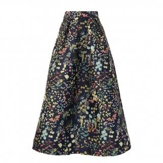 lady Jacquard skirt(flower pattern)
