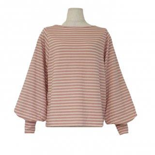 volume sleeve tops(pink border)