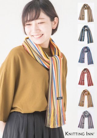 F-3270M 毛混リブマフラー2017/RIBBED SCARF<img class='new_mark_img2' src='//img.shop-pro.jp/img/new/icons13.gif' style='border:none;display:inline;margin:0px;padding:0px;width:auto;' />
