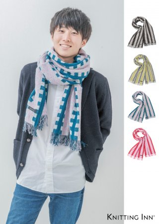 F-3296 ウールフェルトブロックストール2018/WOOL FELT BLOCK SCARF<img class='new_mark_img2' src='https://img.shop-pro.jp/img/new/icons13.gif' style='border:none;display:inline;margin:0px;padding:0px;width:auto;' />