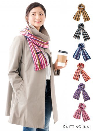 F-3319M 毛混リブマフラー2019/RIBBED SCARF<img class='new_mark_img2' src='https://img.shop-pro.jp/img/new/icons5.gif' style='border:none;display:inline;margin:0px;padding:0px;width:auto;' />