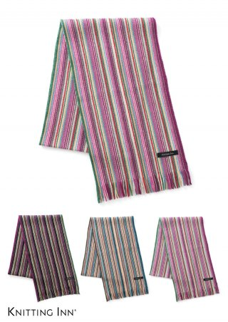 F-3335 ウールペンシルストライプマフラー2020/WOOL STRIPED SCARF<img class='new_mark_img2' src='https://img.shop-pro.jp/img/new/icons5.gif' style='border:none;display:inline;margin:0px;padding:0px;width:auto;' />