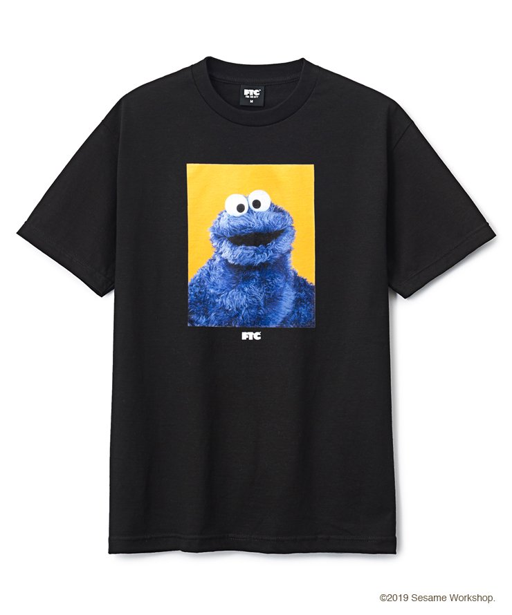 FTC x SESAME STREET® COOKIE MONSTER TEE