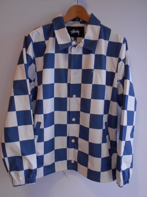 CHECKER COACH JACKET
