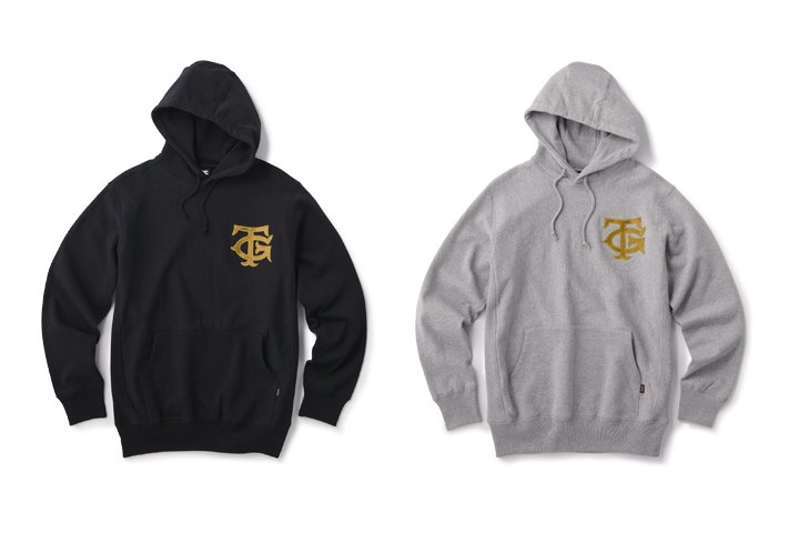 FTC x TG EMBROIDERY LOGO HOODY