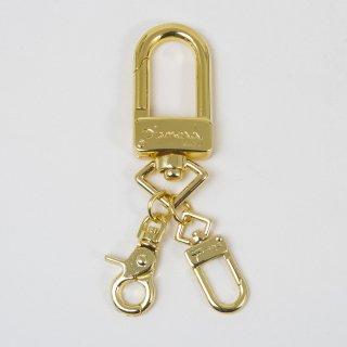 U-Lock Key Chain Gold