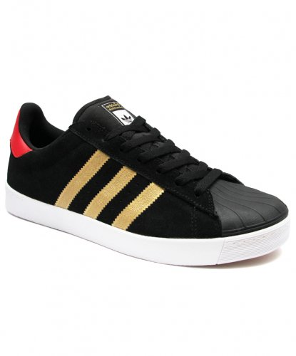 ADIDAS Skateboarding - SUPERSTAR VULC ADV - BLACK / GOLD