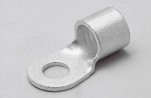 ニチフ R70-12 銅線用裸圧着端子(R形)丸形 穴径6.4mm
