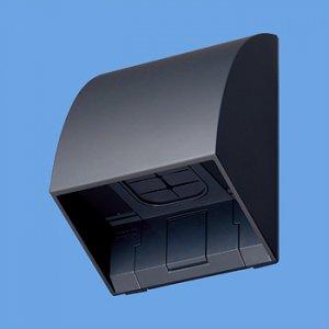 パナソニック WP9631B スマート防雨入線カバー(露出・埋込両用)(ブラック)