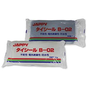 JAPPY B-02W 不乾性パテ タイシール ホワイト 1Kg
