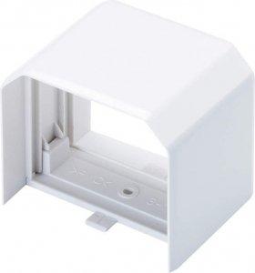 因幡電工 MJ-85 エアコン用配管化粧カバー 直線ダクト継手用 ダクトサイズ:85 色:ネオホワイト