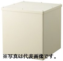 日動電工 PB303020KGHW プルボックス カブセ蓋 正方形(ノック無) 300x300x200 グレー
