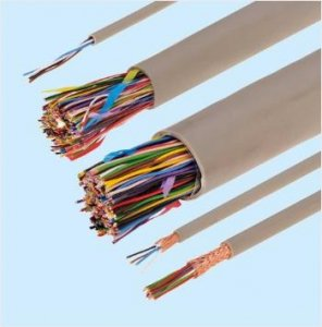 富士電線 ICT 0.4-10P 電子ボタン電話用ケーブル 10対 0.4mm 切り売り