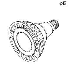 大光電機 LZA-91776E LEDランプ 非調光 昼白色 5000K 37°29W [代引き不可]