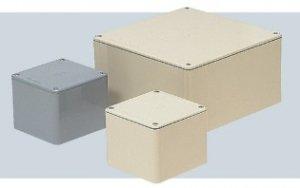 未来工業 PVP-1005A プールボックス 正方形(ノック無) 100x100x55 グレー