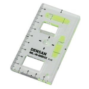 ジェフコム デンサン ML-N-MSHX スイッチボックスケガキレベル(つまみ穴付タイプ 磁石なし)
