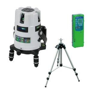 ジェフコム デンサン LBP-9GRS-SET グリーンレーザーポイントライナー(受光器・三脚セット)