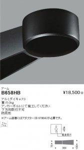 遠藤照明 B-658HB アーム アルミダイキャスト 重:5.0kg 防雨形