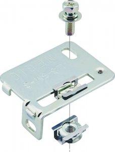 ネグロス LS-5M-4E ネジック マルチセンサーアダプター 小型センサー横取付用 電気亜鉛めっき三価クロメート