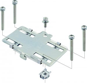 ネグロス LS-1E ネジック リミットスイッチアダプター 電気亜鉛めっき三価クロメート