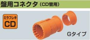 未来工業 CDK-28BG 盤用コネクタ(CD28管用)10個入[法人名あれば]