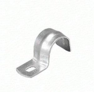 外山電気 SK19 片サドル E19 鋼板製 電気亜鉛メッキ 100個入