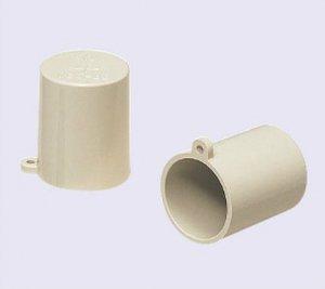 未来工業 VEC-42 管端キャップ 適合管VE-42 グレー 10個入り