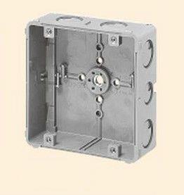 未来工業 CDO-5A 埋込四角アウトレットボックス 大形四角(浅型) グレー
