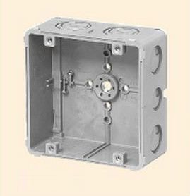 未来工業 CDO-5B 埋込四角アウトレットボックス 大形四角(深型) グレー
