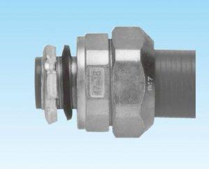 三桂製作所 WBG63 ノックアウト用防水コネクタ(厚鋼電線管おねじ付) 適合プリカPV63/PE63