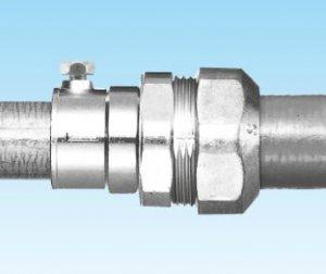 三桂製作所 WKI63 防水コンビネーションカップリング プリカPV/PE63⇔厚鋼電線管G54