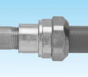 三桂製作所 WUC63 防水コンビネーションカップリング プリカPV/PE63⇔ねじ付薄鋼電線管C63