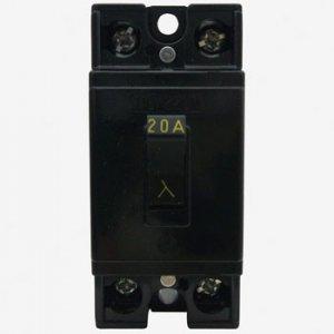 三菱電機 BL-2C 20A 安全ブレーカ 20A 2P2E