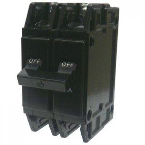 三菱電機 BH-K 2P 20A 分電盤用遮断器 20A 極数2