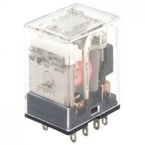 オムロン MY2N-AC200V 動作表示灯内蔵形ミニパワーリレー 極数2 AC200V