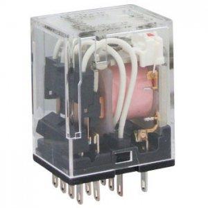 オムロン MY4N-DC24V 動作表示灯内蔵形ミニパワーリレー 極数4 DC24V