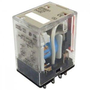 オムロン MY2N-D2 DC24V ダイオード・動作表示灯内蔵形ミニパワーリレー 極数2 DC24V