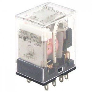オムロン MY2N-CR AC100V CR回路・動作表示灯内蔵形ミニパワーリレー 極数2 AC100V