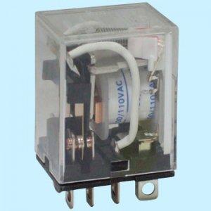 オムロン LY2N-AC100V 動作表示灯内蔵形バイパワーリレー 極数2 AC100V