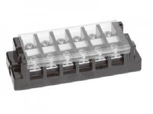 春日電機 T20 C06 組端子台 極数6 3.5平方mm 30A M4 セルフアップ カバー付 記名シール付