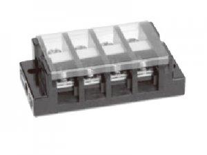 春日電機 T30 C04 組端子台 極数4 8平方mm 50A M5 セルフアップ カバー付 記名シール付