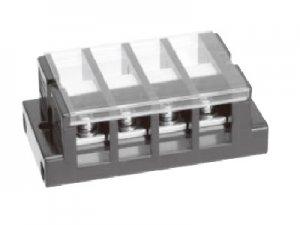 春日電機 TC60 C03 組端子台 極数3 14平方mm 70A M5 丸座金付 カバー付 記名シール付