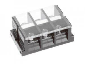 春日電機 TC200 C03 組端子台 極数3 100平方mm 240A M10 六角ボルト カバー付 記名シール付