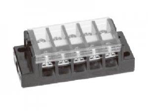 春日電機 T10 10 組端子台 極数10 2平方mm 20A M3.5 セルフアップ カバー付 記名シール付