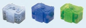 未来工業 DB-B 小物ケース(デンコーキャリーボックス用) 青(半透明)