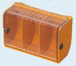 未来工業 DB-1C デンコーボックス (小物箱) 透明(蓋色)