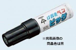 未来工業 KPT-BR け書きペンビッグ(削って使えるけ書きペン) 赤 (約6×3mm角芯)